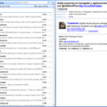 Usar Twitter desde Outlook con TwInbox